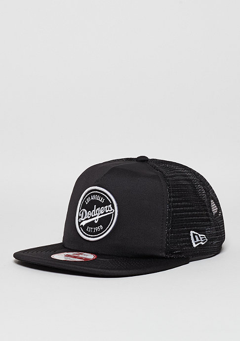 New Era Trucker-Cap 9Fifty Emblem MLB Los Angeles Dodgers black/black