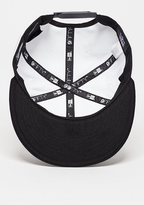 New Era Snapback-Cap 9Fifty Jersey Team NFL Oakland Raiders white/black