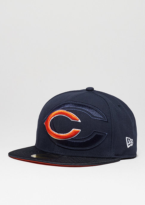 New Era Fitted-Cap 59Fifty Sideline NFL Chicago Bears official