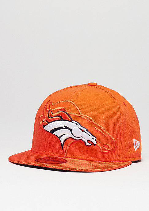 New Era Fitted-Cap 59Fifty Sideline NFL Denver Broncos official