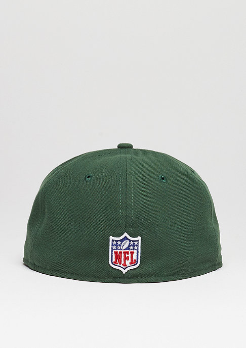 New Era Fitted-Cap 59Fifty Sideline NFL Green Bay Packers official