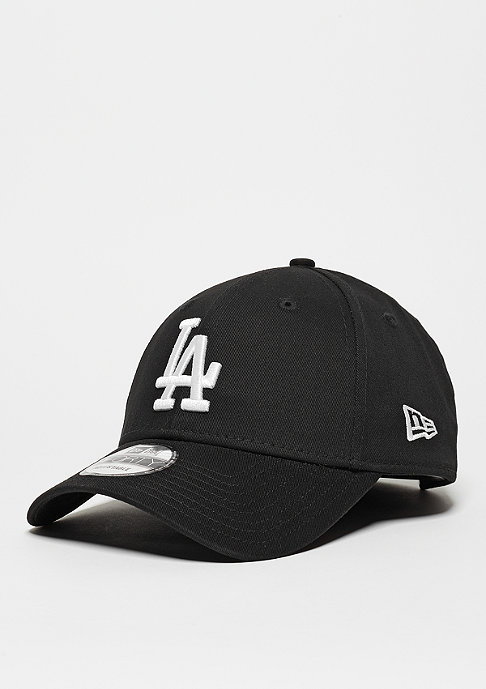 New Era Baseball-Cap 9Forty League Essential MLB Los Angeles Dodgers black/white