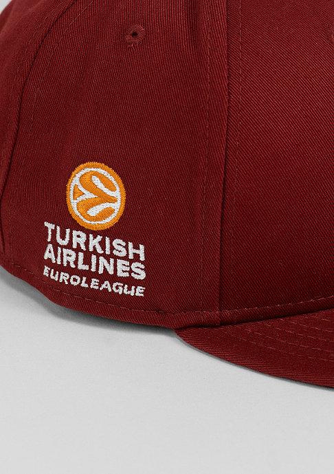 New Era Snapback-Cap Galatasaray Liv Hospital Istanbul brgndy