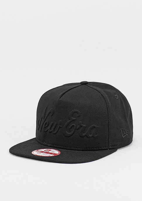 New Era Snapback-Cap Gel Script black