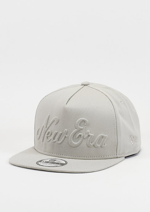 New Era Snapback-Cap Gel Script stone