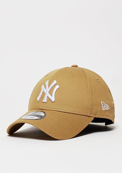 New Era Baseball-Cap League Essential MLB New York Yankees wheat