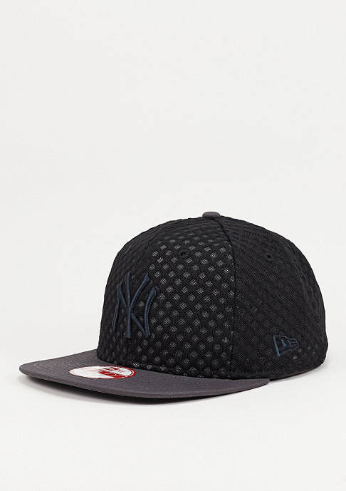 New Era Snapback-Cap Mesh Crown MLB New York black/black/graphite
