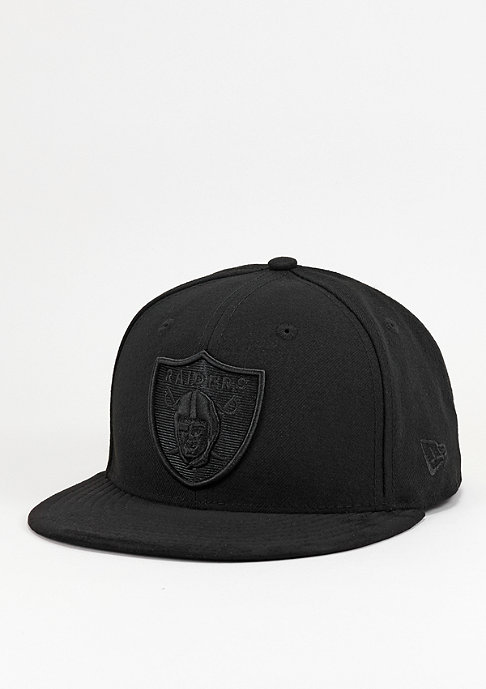 New Era Fitted-Cap Poly Tone NFL Oakland Raiders official team colour