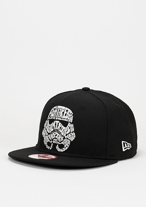 New Era Snapback-Cap Word Character Stormtrooper 9Fifty black