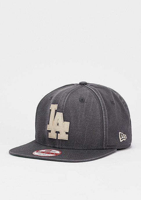 New Era Snapback-Cap Vintage Wash MLB Los Angeles Dodgers grey/optic white