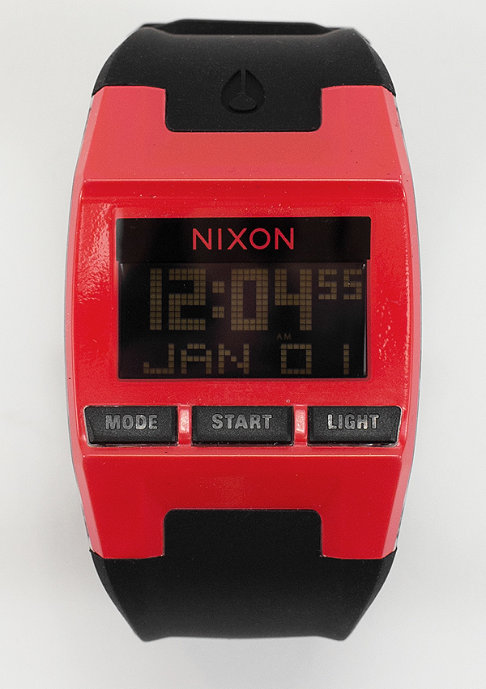 Nixon Uhr Comp red/black