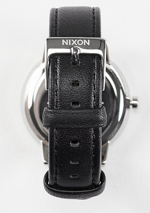 Nixon Uhr Kensington Leather black