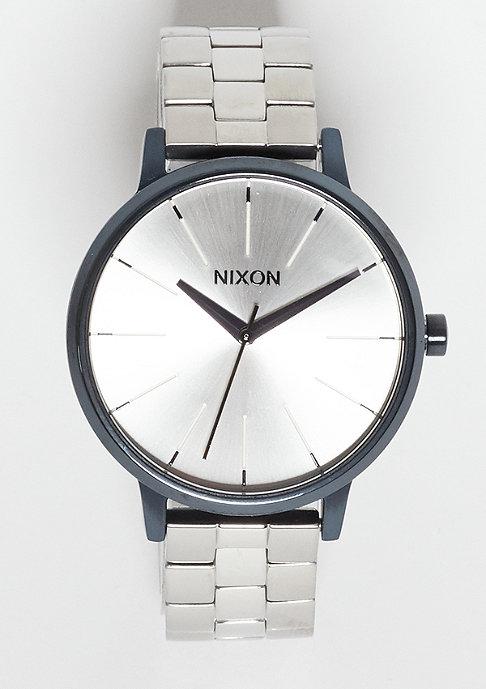 Nixon Uhr Kensington navy/silver
