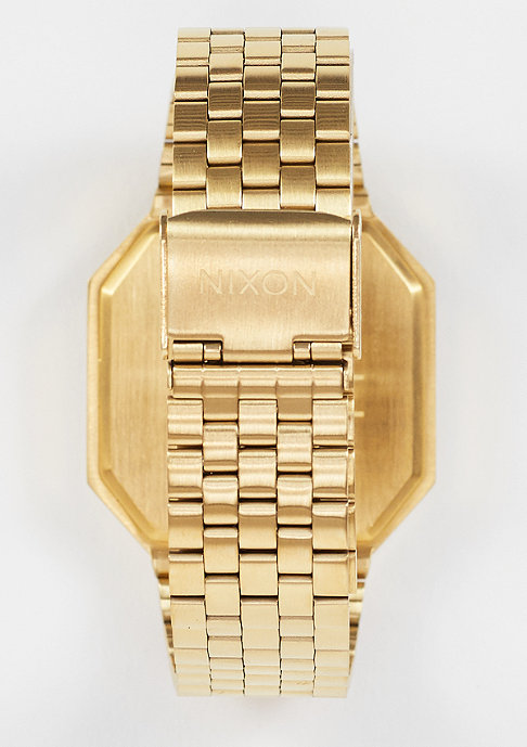 Nixon Uhr Re-Run all gold