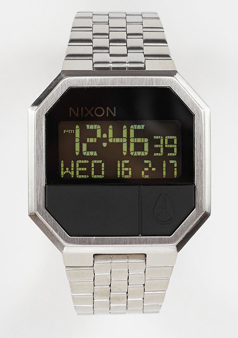 Nixon Uhr Re-Run black