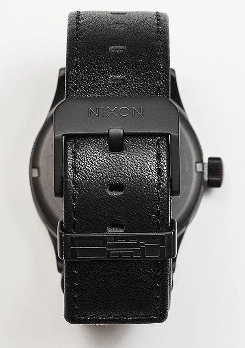 Nixon Uhr Sentry Leather Star Wars Kylo black