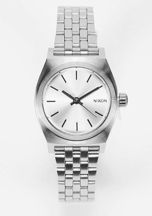 Nixon Uhr Small Time Teller all silver