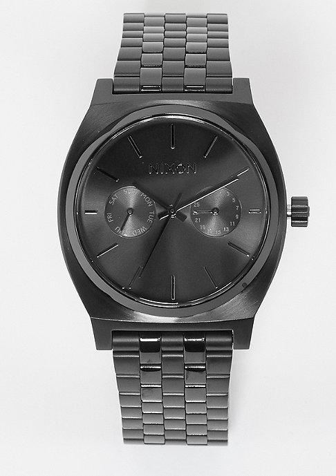 Nixon Uhr Time Teller Deluxe all black