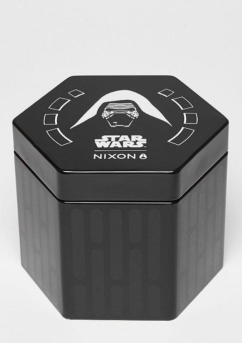 Nixon Uhr Time Teller Leather Star Wars Kylo black