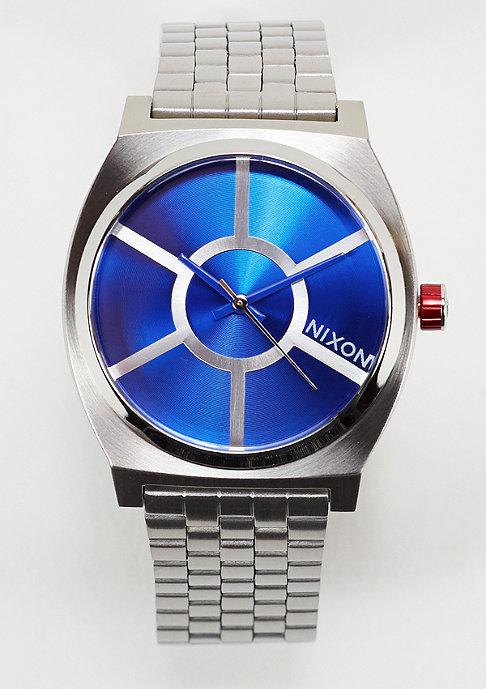 Nixon Uhr Time Teller Star Wars R2D2 blue