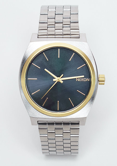 Nixon Uhr Time Teller gold/blue sunray