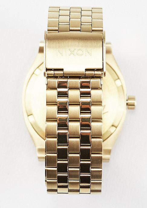 Nixon Uhr Time Teller light gold/pink