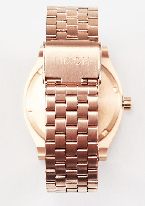 Nixon Uhr Time Teller all rose gold