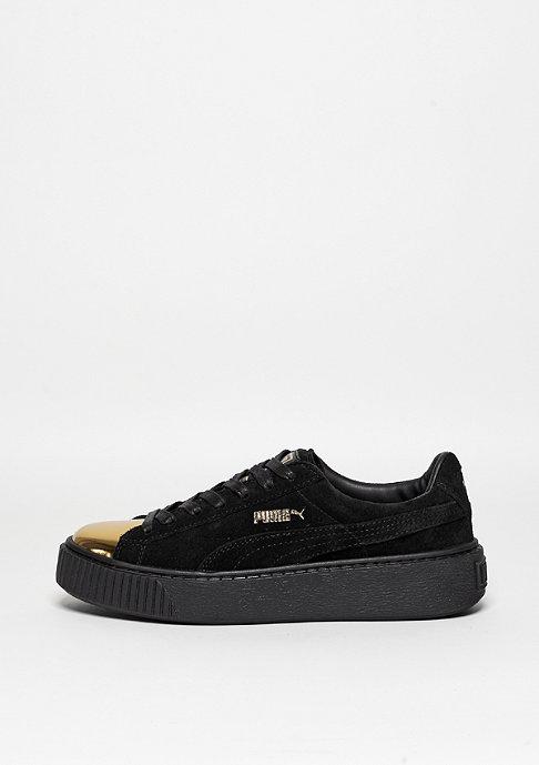 Puma Schuh Suede Platform gold/puma black