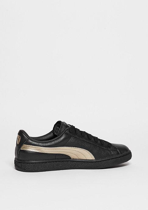 Puma Schuh Basket Classic Metallic puma black/silver gold/puma black