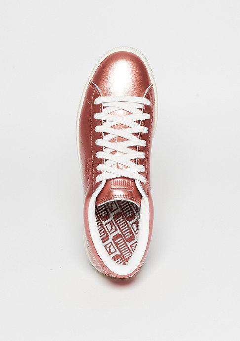 Puma Schuh Basket Classic Metallic copper/puma white/whisper white