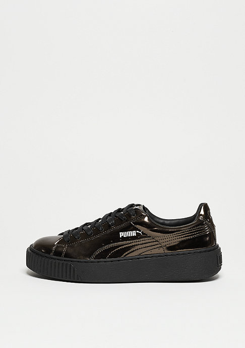Puma Schuh Basket Platform Metallic black/black/black