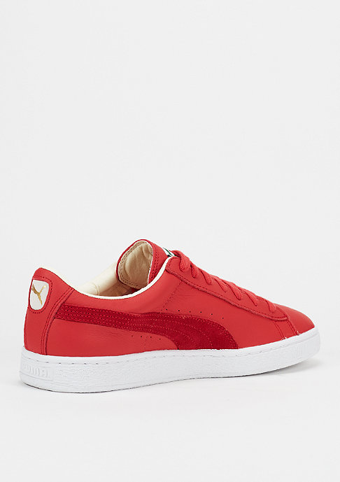 Puma Schuh Basket Classic high risk red