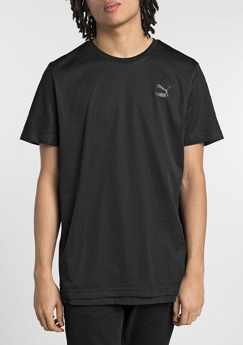 Puma T-Shirt Evo Mesh Layer black