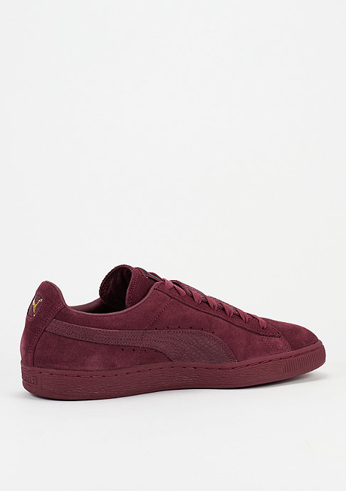 Puma Schuh Suede Classic Epic Snake cordovan/team gold