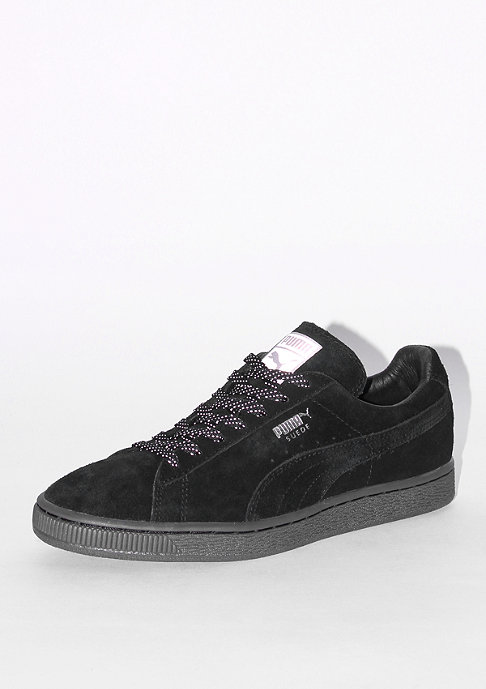 Puma Schuh Suede Mono Reflective black/silver