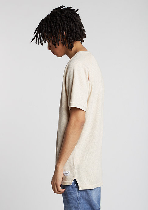 Reell T-Shirt Raglan off white melange