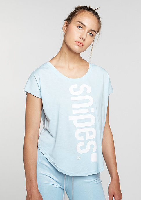 SNIPES T-Shirt Basic SR light blue