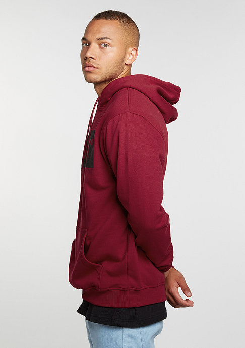 SNIPES Hooded-Sweatshirt Box Logo ruby