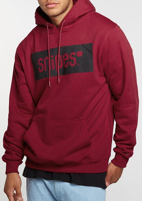 SNIPES Hooded-Sweatshirt Box Logo ruby