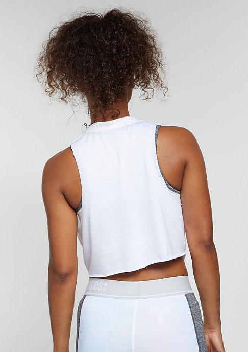 SNIPES Tanktop Cropped white
