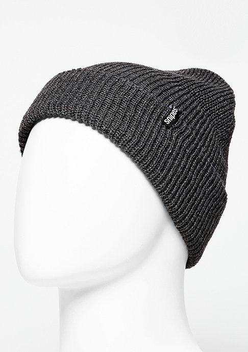 SNIPES Beanie Fisherman charcoal melange