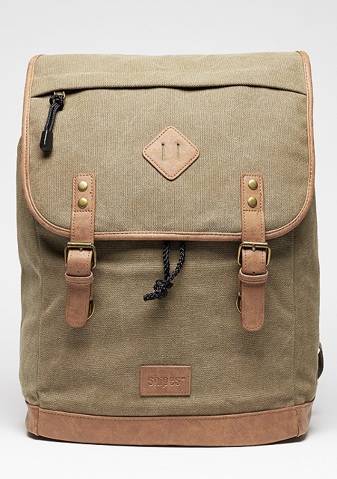 SNIPES Rucksack Legacy Canvas olive