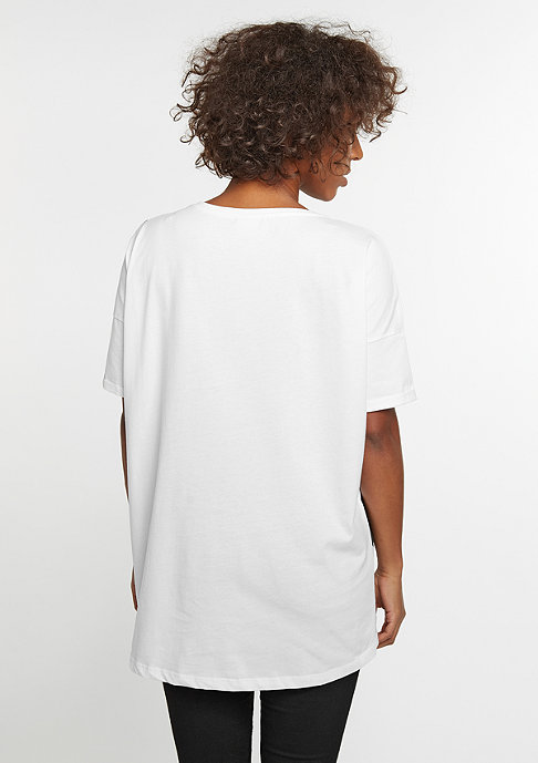 SNIPES T-Shirt Oversized white