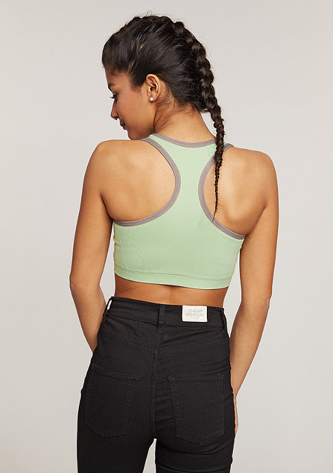 SNIPES Top Sports Zip light green