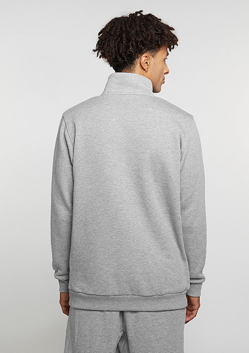 SNIPES Sweatshirt Troyer heather grey
