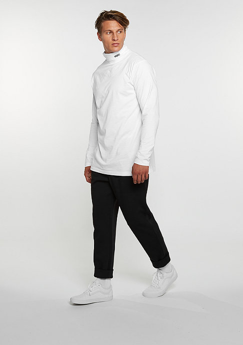 SNIPES Longsleeve Turtleneck white