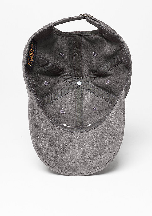 SNIPES Baseball-Cap Velours charcoal