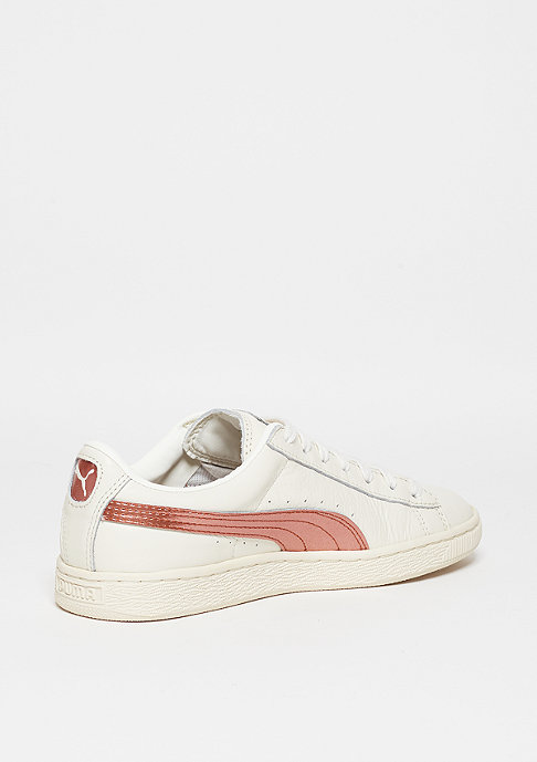 Puma Schuh Basket Classic Metallic whisper white/whisper white/copper
