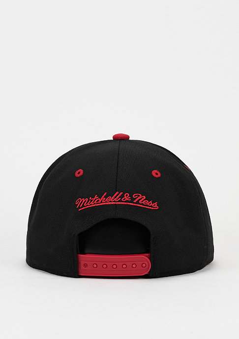 Mitchell & Ness Snapback-Cap Team Arch NBA Miami Heat black