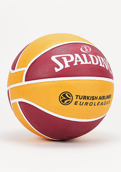 Spalding Basketball EL Team Galatasaray Istanbul red/yellow